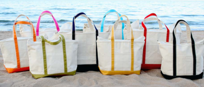 Extra Large Pool/Beach Tote Bags with Zipper Top $19.99 (Reg ...