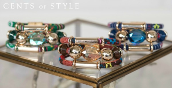 cents of style rope and bead bracelets 1