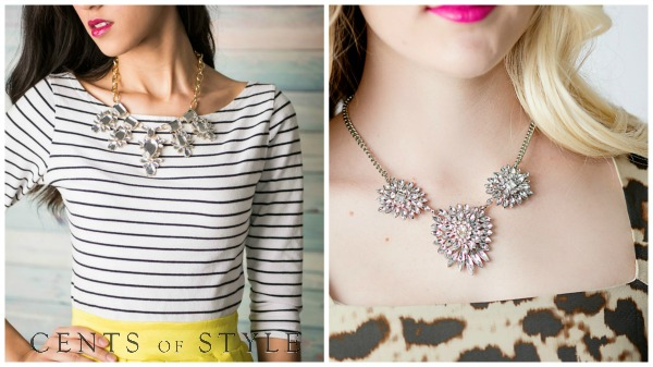 crystal statement necklaces