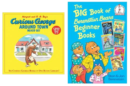 curious george around town the big book of berenstain bears beginner books