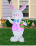 easter bunny inflatable