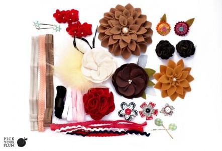 hair accessory grab bag