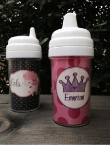 personlized sippy cups