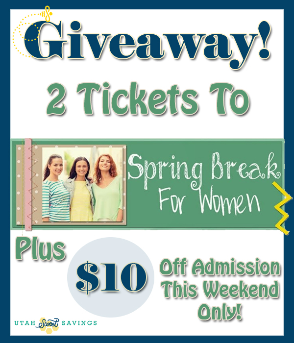 spring break for women giveaway 2