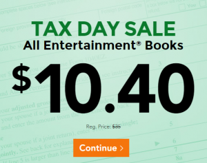 tax day sale utah entertainment book