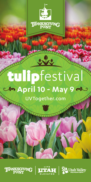 Last Week For The Tulip Festival At Thanksgiving Point Tips What To Expect Utah Sweet Savings