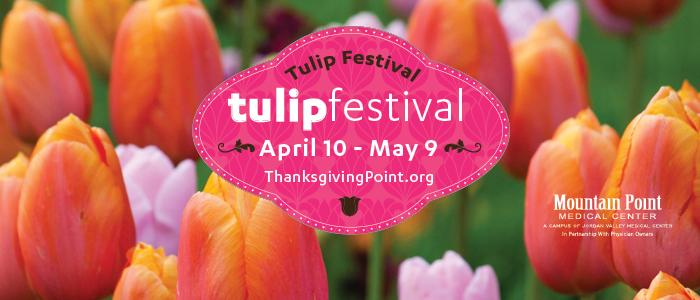 thanksgiving point tulip festival