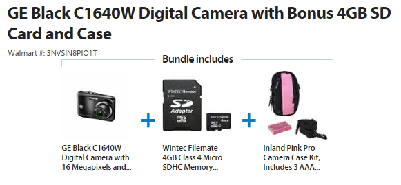 Camera Bundle Deal