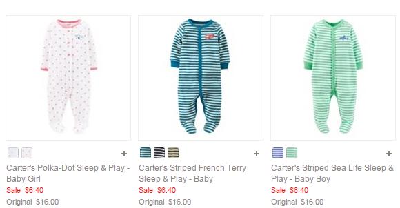 Carters Baby Pajamas