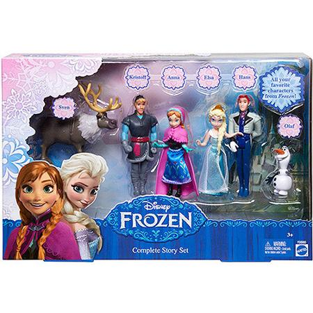 Disney Frozen Small Doll Complete Story Set For 14 98