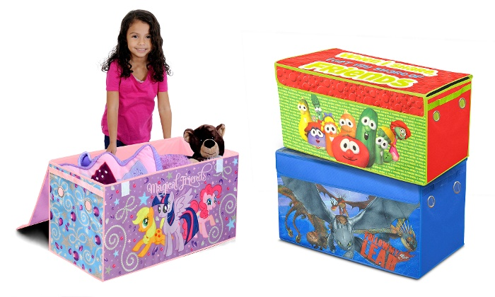Kidsu0027 Licensed Character Collapsible Storage Trunks