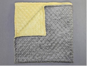 Minky Chenille Solid Baby Blanket