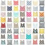 New Fabric Pillow Covers - 60 Choices