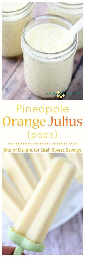 Pineapple Orange Julius USS Collage