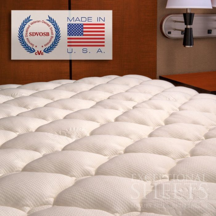 Plush Bamboo Mattress Topper