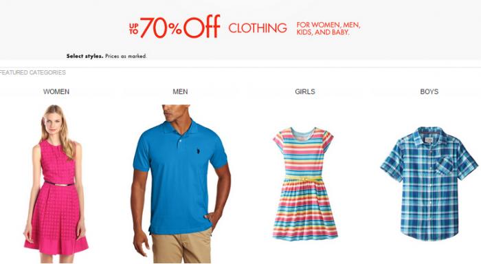 amazon clothing sale