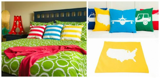 bold pillow covers