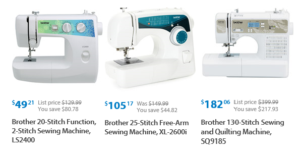 Brother's Sewing Machines Huge Roll Back 40 Reg 4040 Or Impressive Brother Sewing Machine 2600i