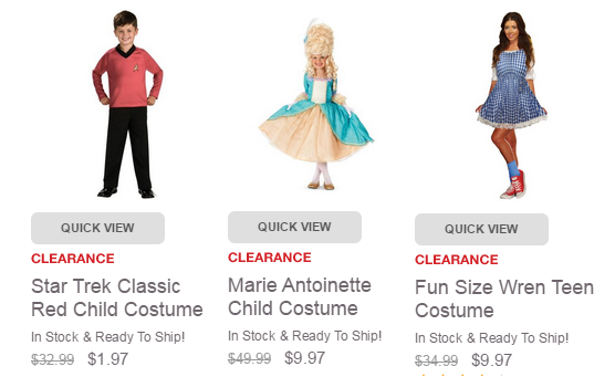 buycostumes clearance