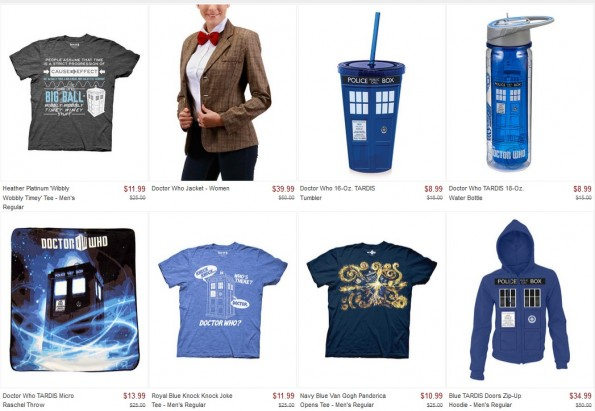 doctor who sale
