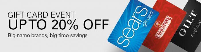 ebay gift card event
