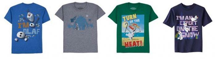*HOT* Olaf T-Shirts for $1 60 (Reg $16)! – Utah Sweet Savings