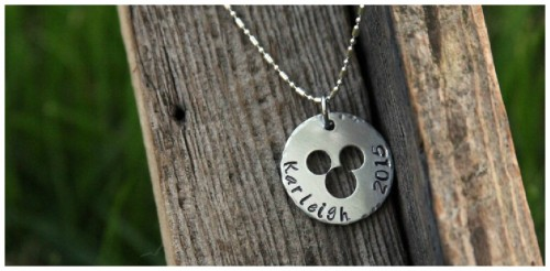 mickey minnie character necklaces