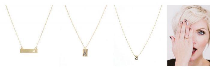 monogram jewelry fashion friday