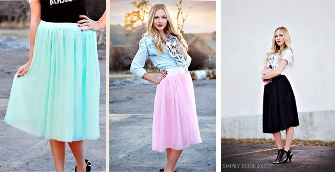 must have tulle skirt
