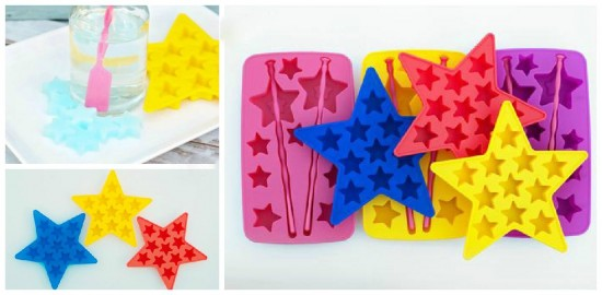 star ice and star wand molds