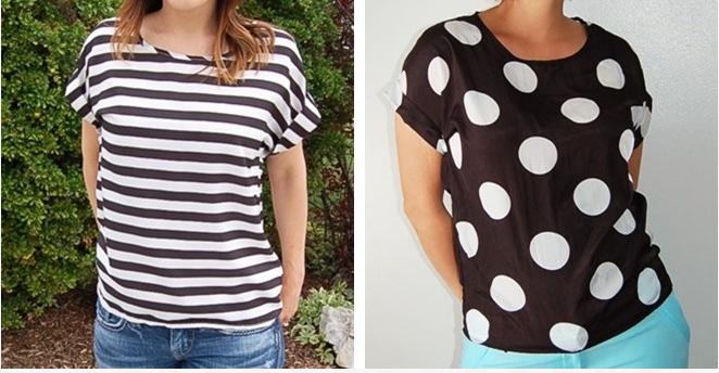 stripes and poka dots
