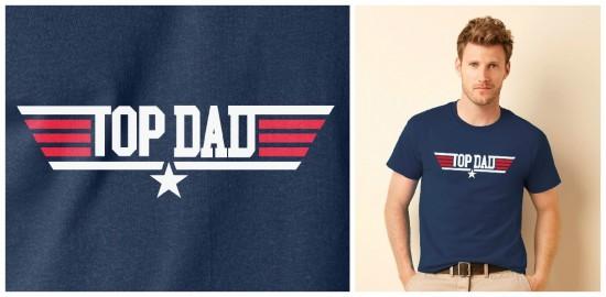 top dad flight tee