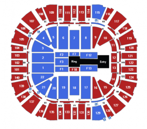wwe live seating
