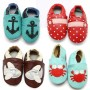 Embellished Leather Baby Moccasins - 50 Styles