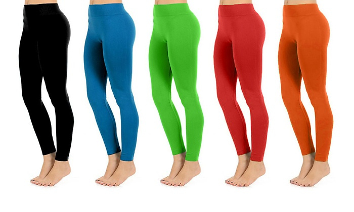 Fashionable Legs Seamless Full Length Summer Leggings