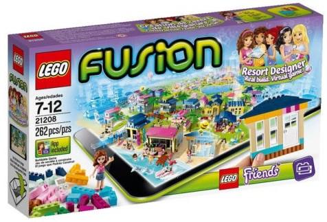 LEGO FUSION Resort Designer 21208