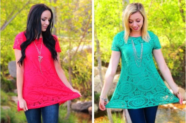 Lace Tunics