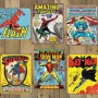 Officially Licensed Retro Comic Book Tin Signs