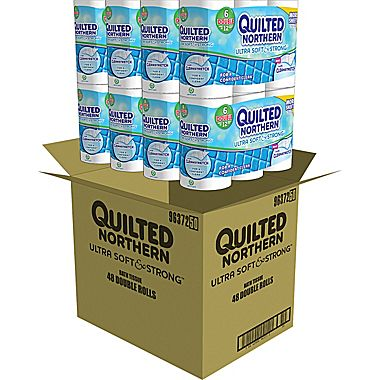 Quilted Northern Ultra Soft & Strong Toilet Paper, 48 Rolls