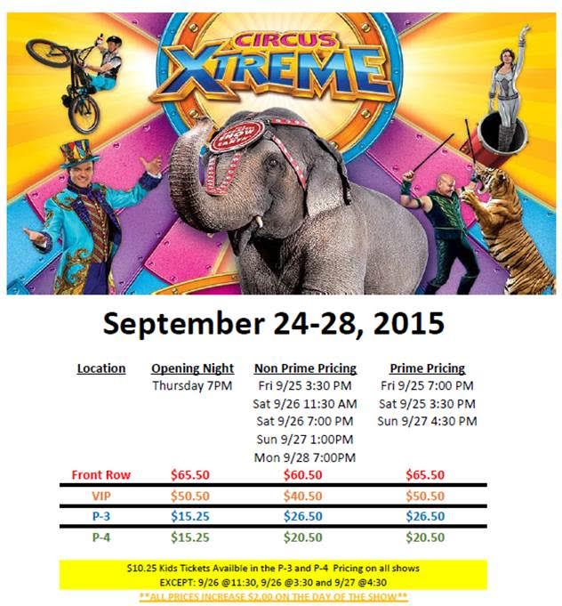 Ringling Bros & Barnum and Bailey presents Circus Extreme