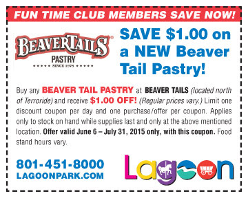 beaver tails lagoon treat