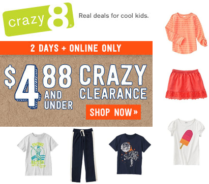 crazy 8 sale copy