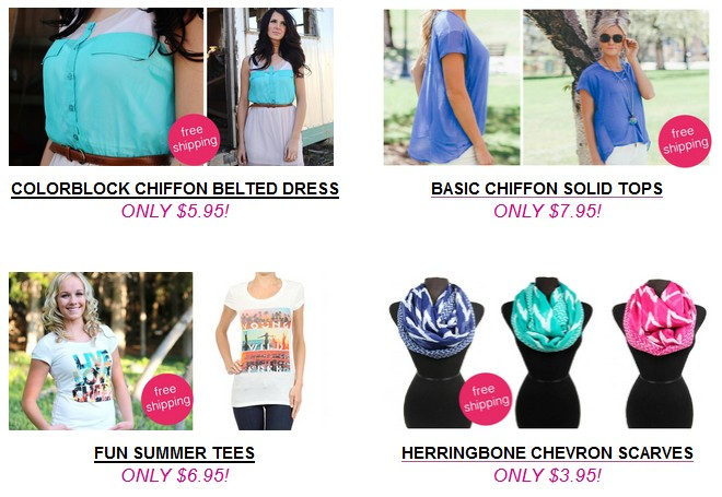 free shipping sassy steals