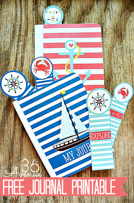free summer journal printable