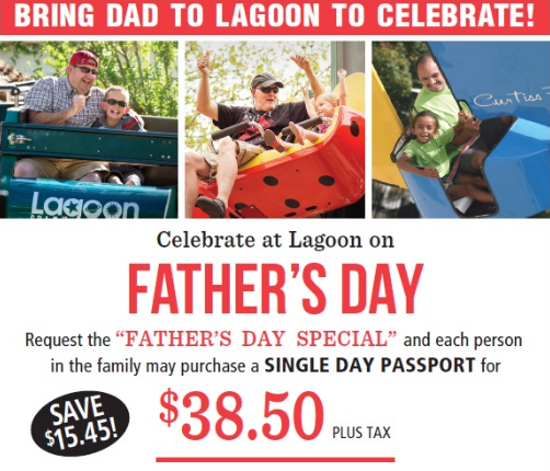 lagoon fathers day special
