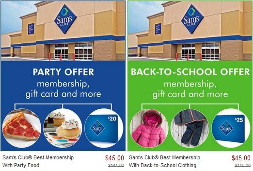 sams club membership zulily deals