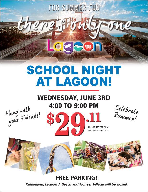 school night at lagoon