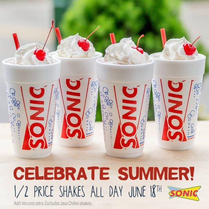 sonic shakes