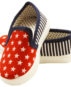 stars and strips shoes