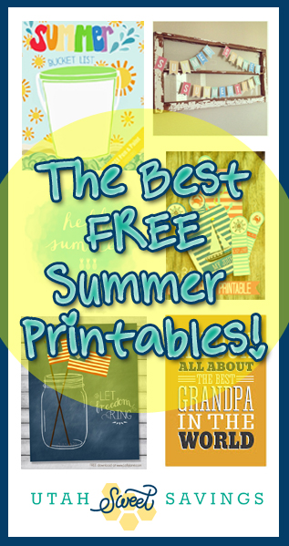 the best free summer printables